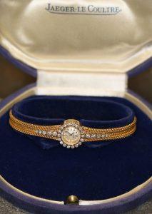 Jeager-Le Coultre, Uhr, Gold, 18 Karat oder Legierung mit Diamanten