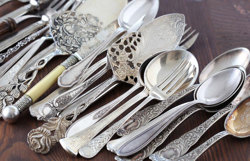 Ankauf von Silberbesteck und Silbermünzen