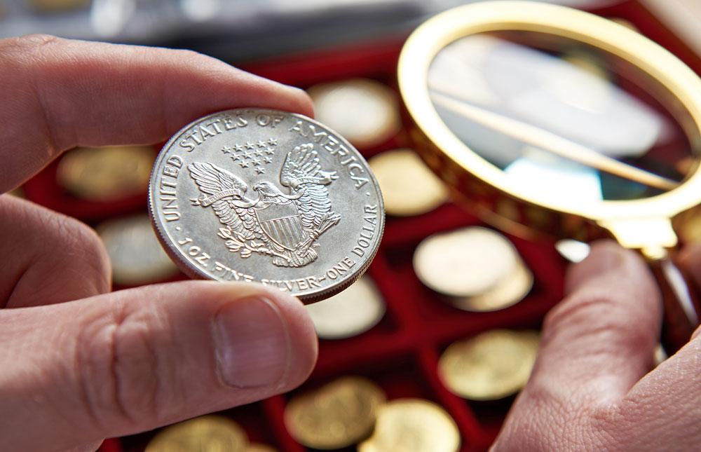 Silbermünzen und Silbermedaillen, Schätzung
